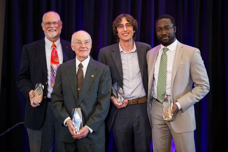 Christophe Bisciglia Allen School News CSEs Yaw Anokwa Christophe Bisciglia honored