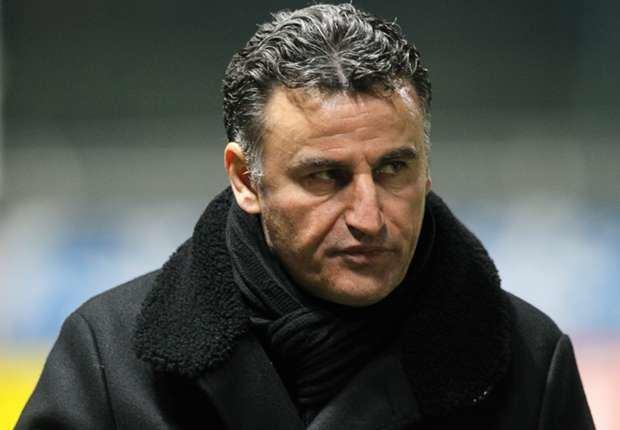 Christophe Galtier SaintEtienne coach Christophe Galtier knocked unconscious