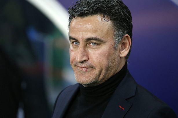 Christophe Galtier Newcastle 39line up SaintEtienne boss Christophe Galtier