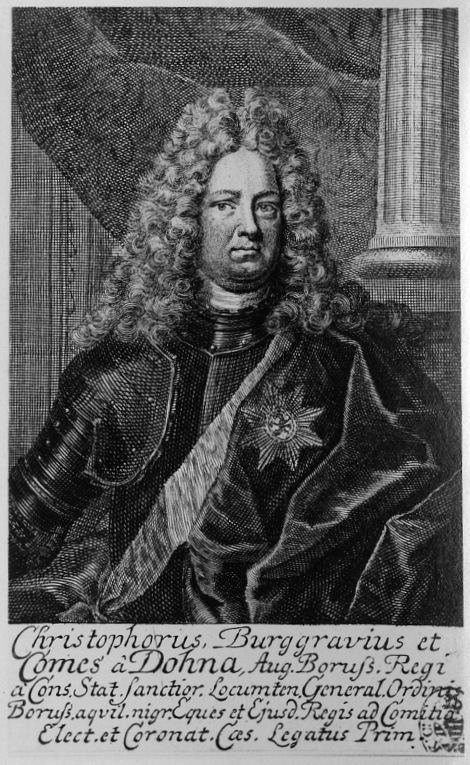 Christopher I, Burgrave and Count of Dohna-Schlodien