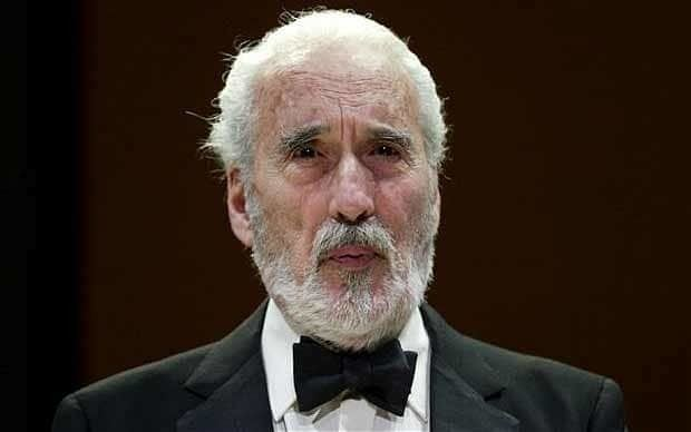 Christopher Lee Sir Christopher Lee dies at 93 latest reaction and