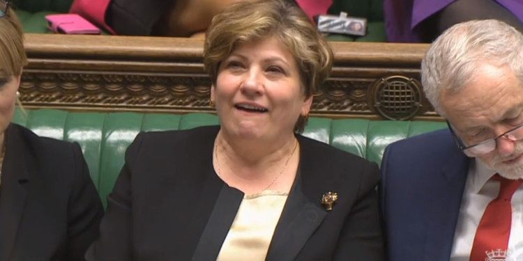 Christopher Nugee Emily Thornberry Complains About Theresa May Calling Her Lady Nugee