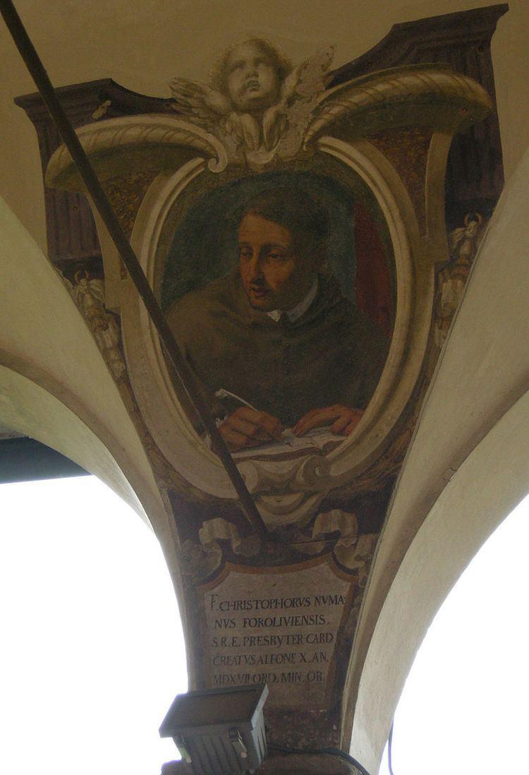 Christopher Numar of Forli