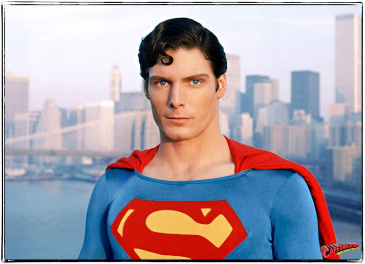 Christopher Reeve Tribute Letters CapedWonder Superman Imagery