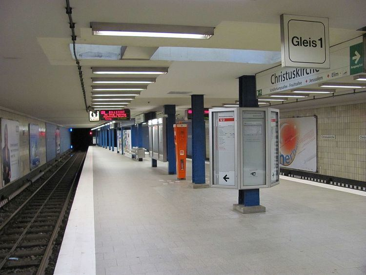 Christuskirche (Hamburg U-Bahn station)