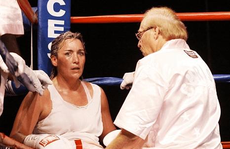 Christy Martin (boxer) BOXING DAKOTA STONE DEFEATS CHRISTY MARTIN WSEN