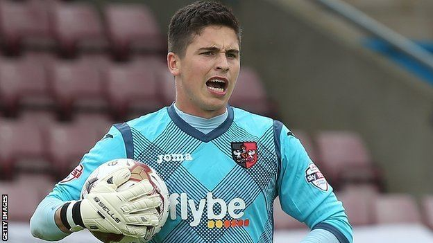 Christy Pym BBC Sport Christy Pym Exeter City keeper welcomes fight