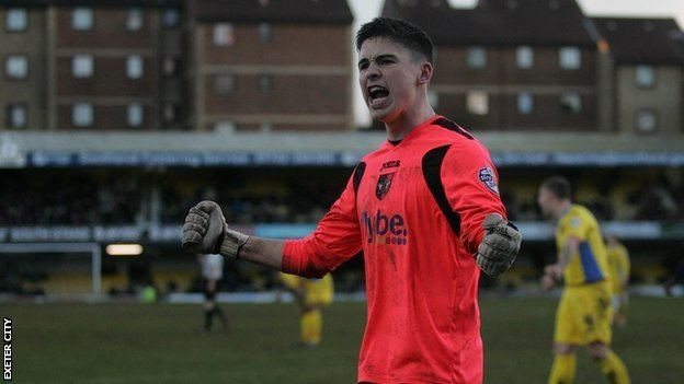 Christy Pym BBC Sport Exeter City goalkeeper Christy Pym signs new