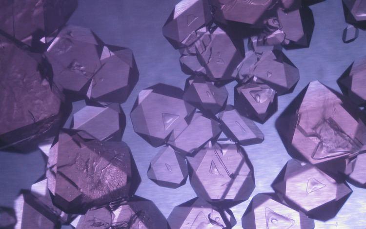 Chrome alum Chrome Alum Crystals This is a photo of chrome alum crysta Flickr