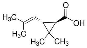 Chrysanthemic acid transChrysanthemic acid 970 GC SigmaAldrich