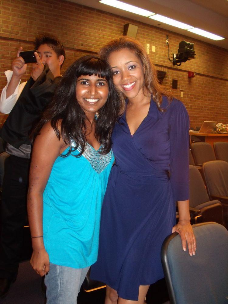 Chrystee Pharris Chrystee Pharris stars In Search of O at Howard University