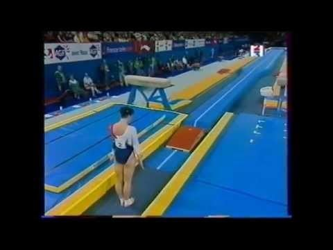Chrystel Robert Chrystel ROBERT FRA tumbling 2001 French internationals EF YouTube