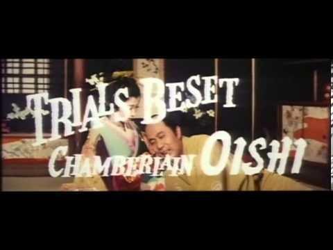 Chūshingura: Hana no Maki, Yuki no Maki Chushingura Hana no maki yuki no maki aka 47 ronin 1962 YouTube