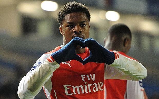 Chuba Akpom Arsenal news Arsene Wenger hails young striker Chuba