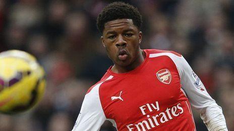 Chuba Akpom BBC Sport Chuba Akpom Arsenal striker signs new