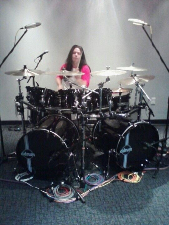 Chuck Behler Drummer from Megadeth Chuck Behler I dont want to work I just