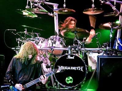 Chuck Behler Shawn Drover Interview Megadeth Drummer talks Chuck Behler