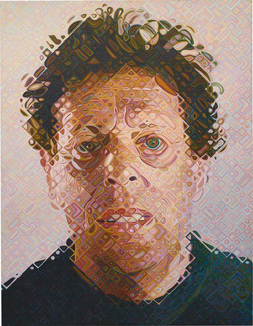 Chuck Close The AweInspiring Work of Chuck Close Design Milk