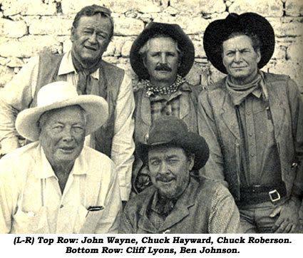 Chuck Hayward Chuck Hayward Western Stuntmen by Neil Summers