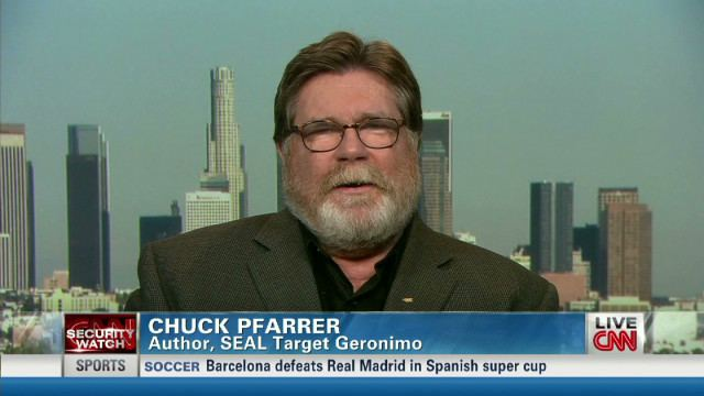 Chuck Pfarrer Fmr Navy SEAL Pfarrer on Bin Laden raid tellall Author