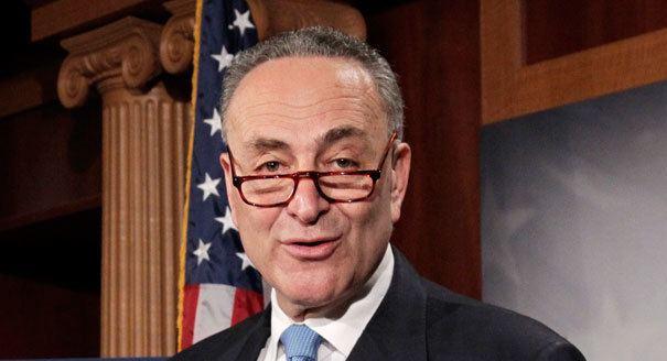Chuck Schumer Schumer unveils jobs plan POLITICO