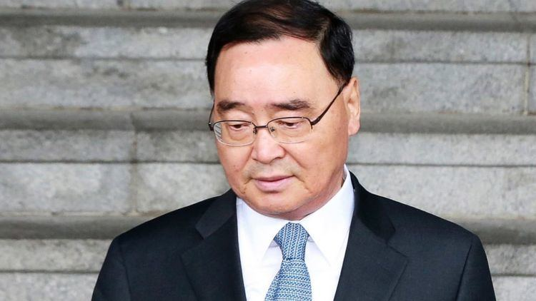 Chung Hong-won South Korea39s PM resigns over ferry disaster The Chronicle