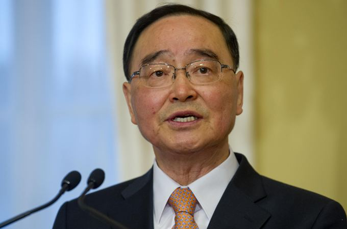 Chung Hong-won S Korean President Resigns Over Ferry Disaster vid and