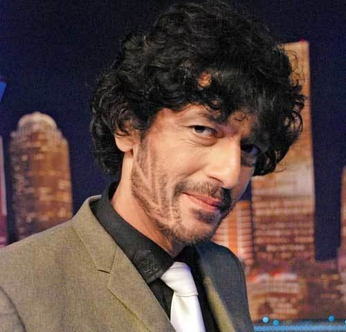 Chunky Pandey Chunky Pandey39s zigzag beard look Entertainment