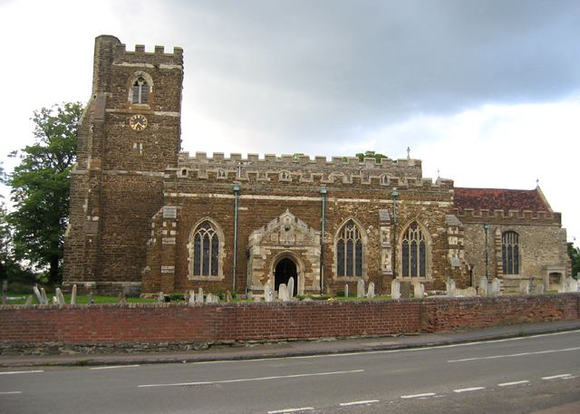 Church of All Saints, Houghton Conquest