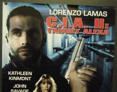 CIA II: Target Alexa CIA II TARGET ALEXA PROMO MOVIE POSTER LORENZO LAMAS 27 X 38