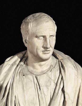 Cicero Marcus Tullius Cicero Roman statesman scholar and