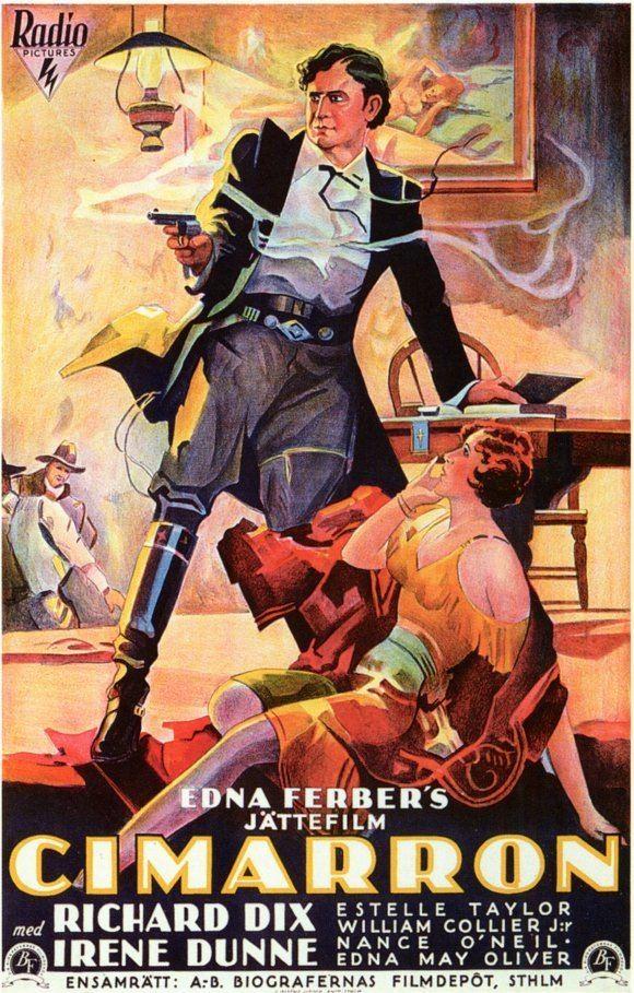 Cimarron (1931 film) Cimarron 1931 Review with Richard Dix and Irene Dunn PreCodeCom