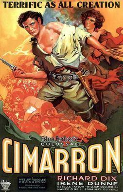 Cimarron (1931 film) Cimarron 1931 film Wikipedia