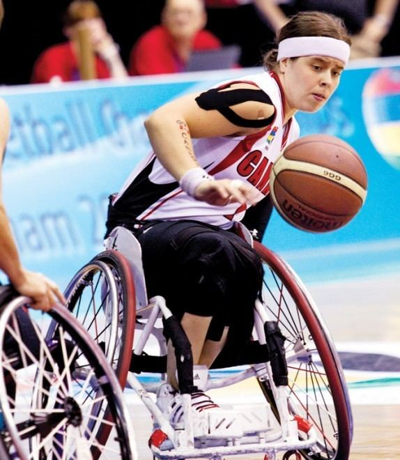 Cindy Ouellet Carpe diem Paralympic star Cindy Ouellet39s words to lives