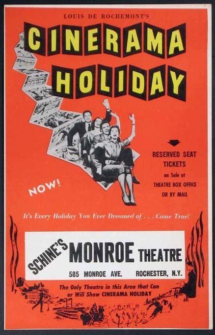 Cinerama Holiday World Cinema Paradise Bluray Review Cinerama Holiday 1955