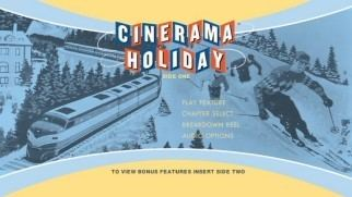 Cinerama Holiday Cinerama Holiday Bluray DVD Review