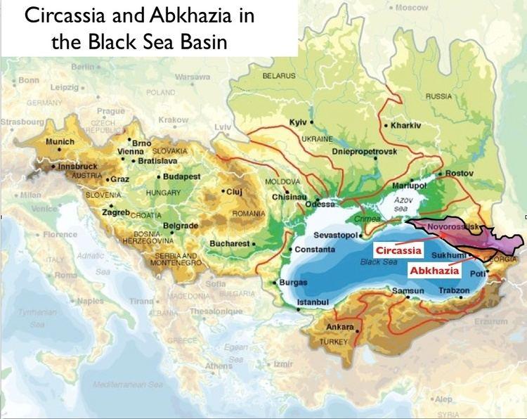 Circassia The Circassian Mystique and Its Historical Roots GeoCurrents