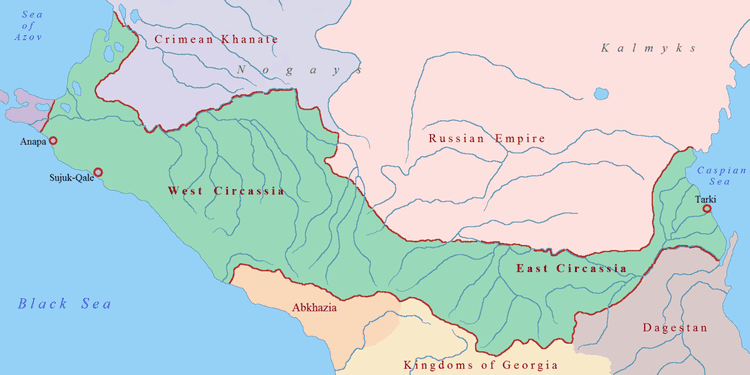 Circassia Longing for CircassiaA Land Without Her People borderlessblogger