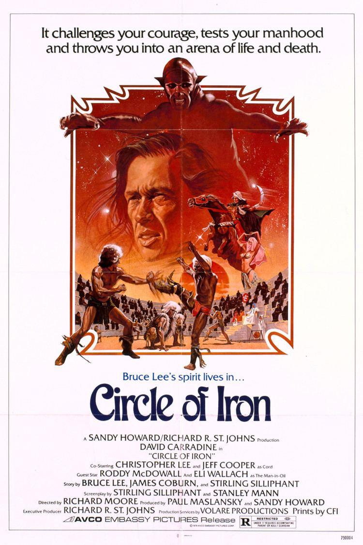 Circle of Iron wwwgstaticcomtvthumbmovieposters7885p7885p