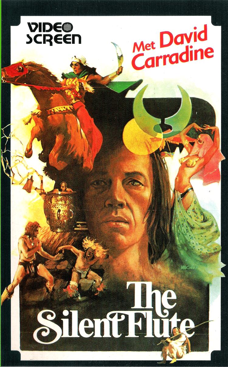 Circle of Iron The Circle of Iron aka The Silent Flute VHS Starring David