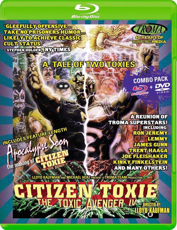 Citizen Toxie: The Toxic Avenger IV Citizen Toxie The Toxic Avenger IV Bluray
