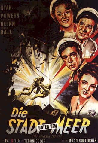 City Beneath the Sea (1953 film) City Beneath the Sea 1953 movie poster 4 SciFiMovies