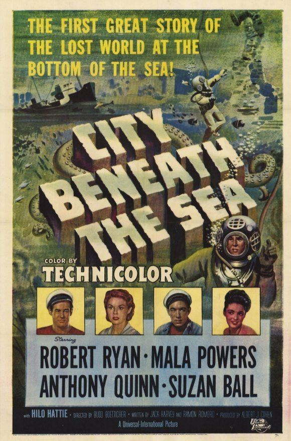 City Beneath the Sea (1953 film) City Beneath the Sea Movie Posters From Movie Poster Shop