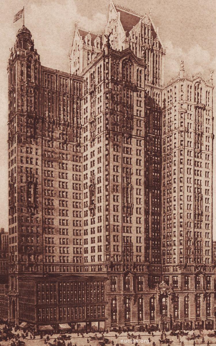 City Investing Building City Investing Building New York City c 1914 Nucius