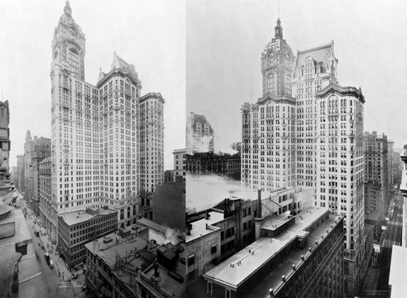 City Investing Building Singer Building NYC City Investing Building NYC