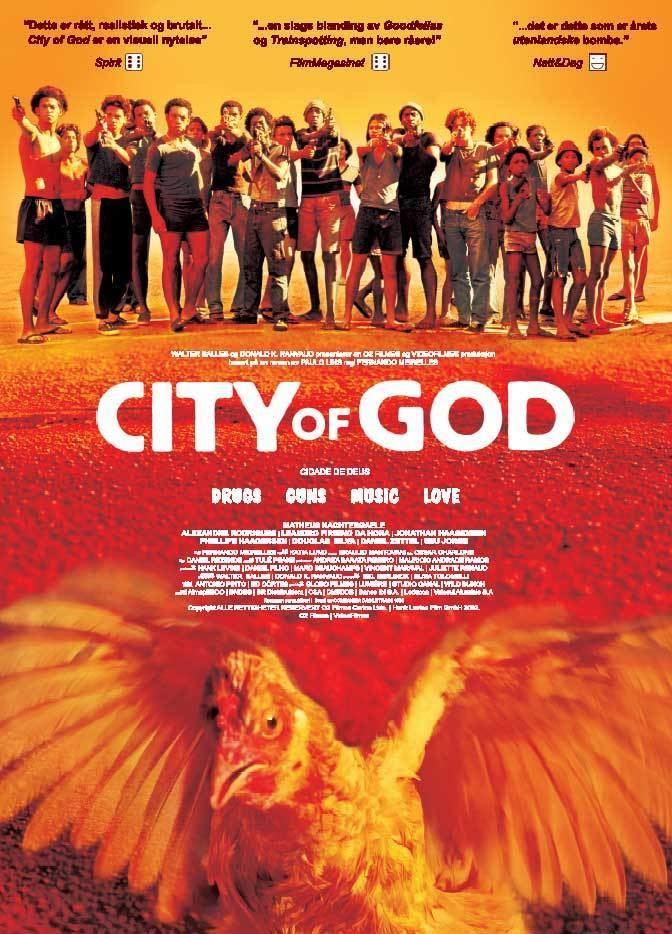 City of God (2002 film) Laurens Film Blog La Haine and City Of God comparison