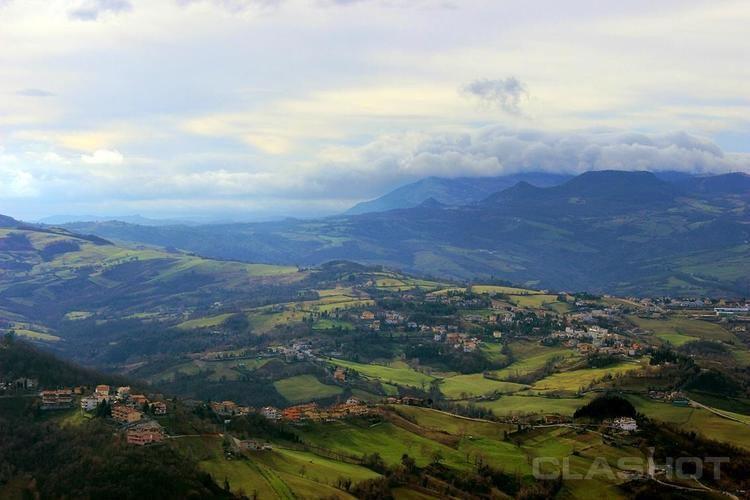 City of San Marino Beautiful Landscapes of City of San Marino