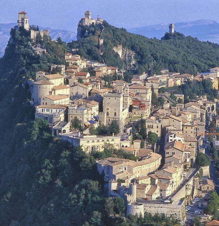 City of San Marino in the past, History of City of San Marino