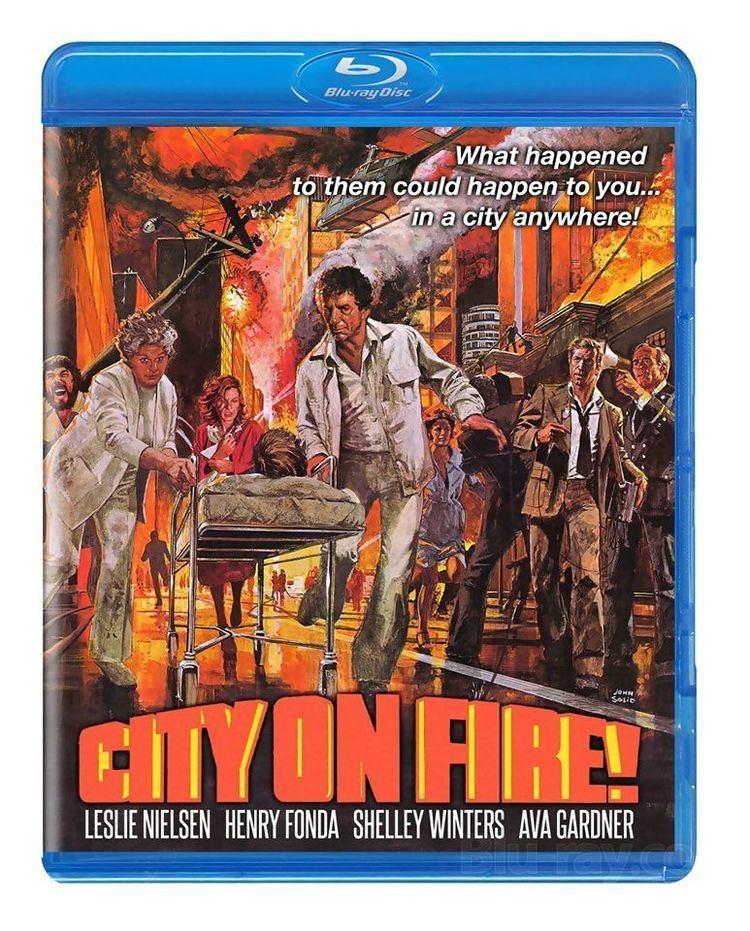 City on Fire (1979 film) City on Fire 1979 Bluray
