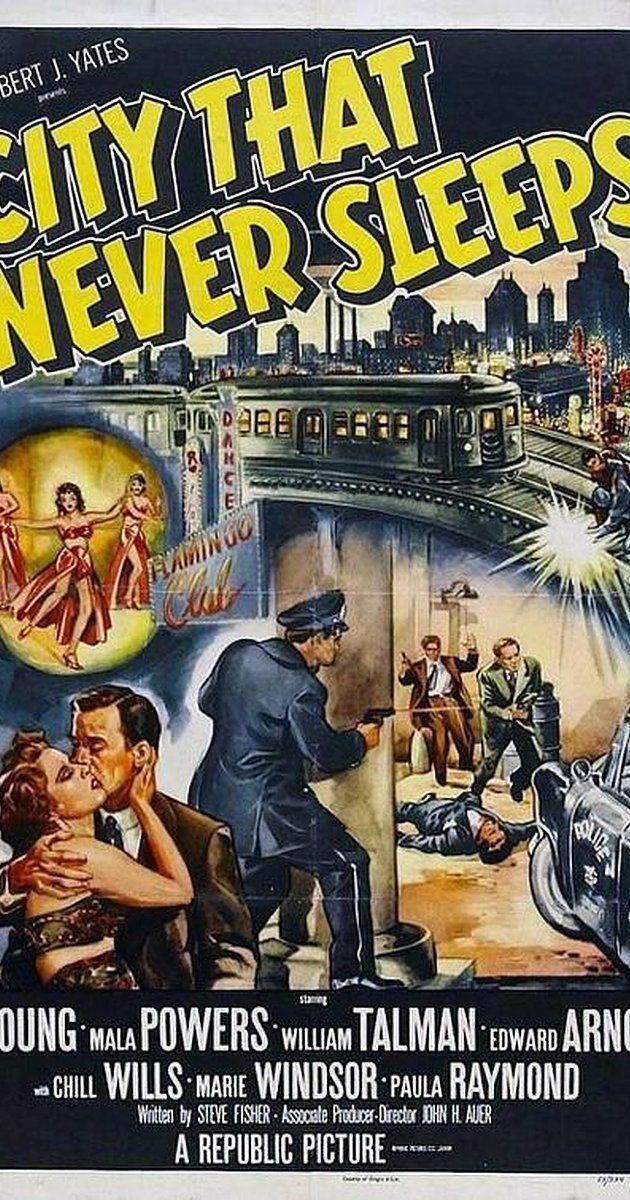 City That Never Sleeps City That Never Sleeps 1953 IMDb